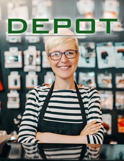 Depot sucht Verstärkung! Bewerbe dich jetzt!