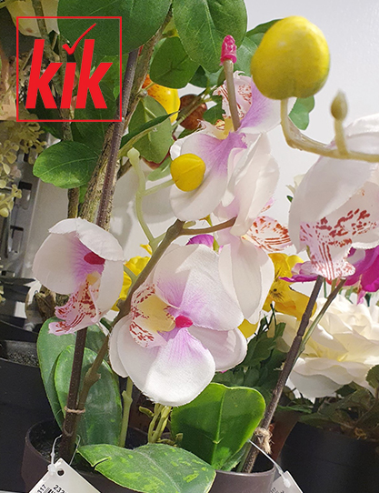 KiK – Schöne Kunstblumen und Kunstpflanzen ab 1,99€